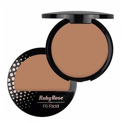Pó Compacto Facial Cores Claras Ruby Rose