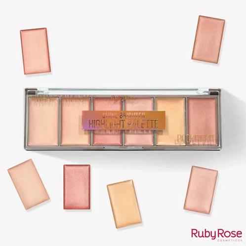 Iluminador Pocket Shine Brighter - Ruby Rose