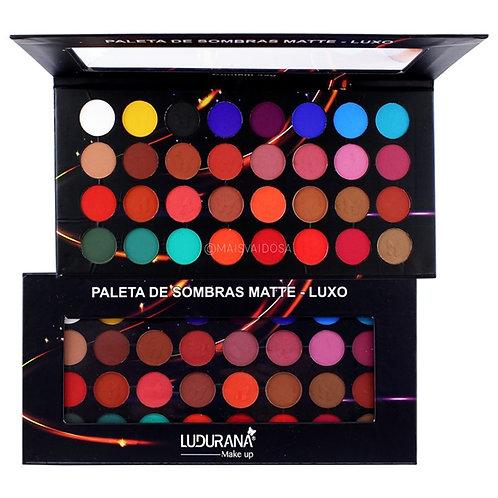 Paleta de Sombras Luxo 32 Cores Ludurana