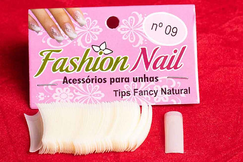 Tips de unha Fancy Natural 500 un.