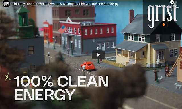 How 100% clean energy could power our cities and towns