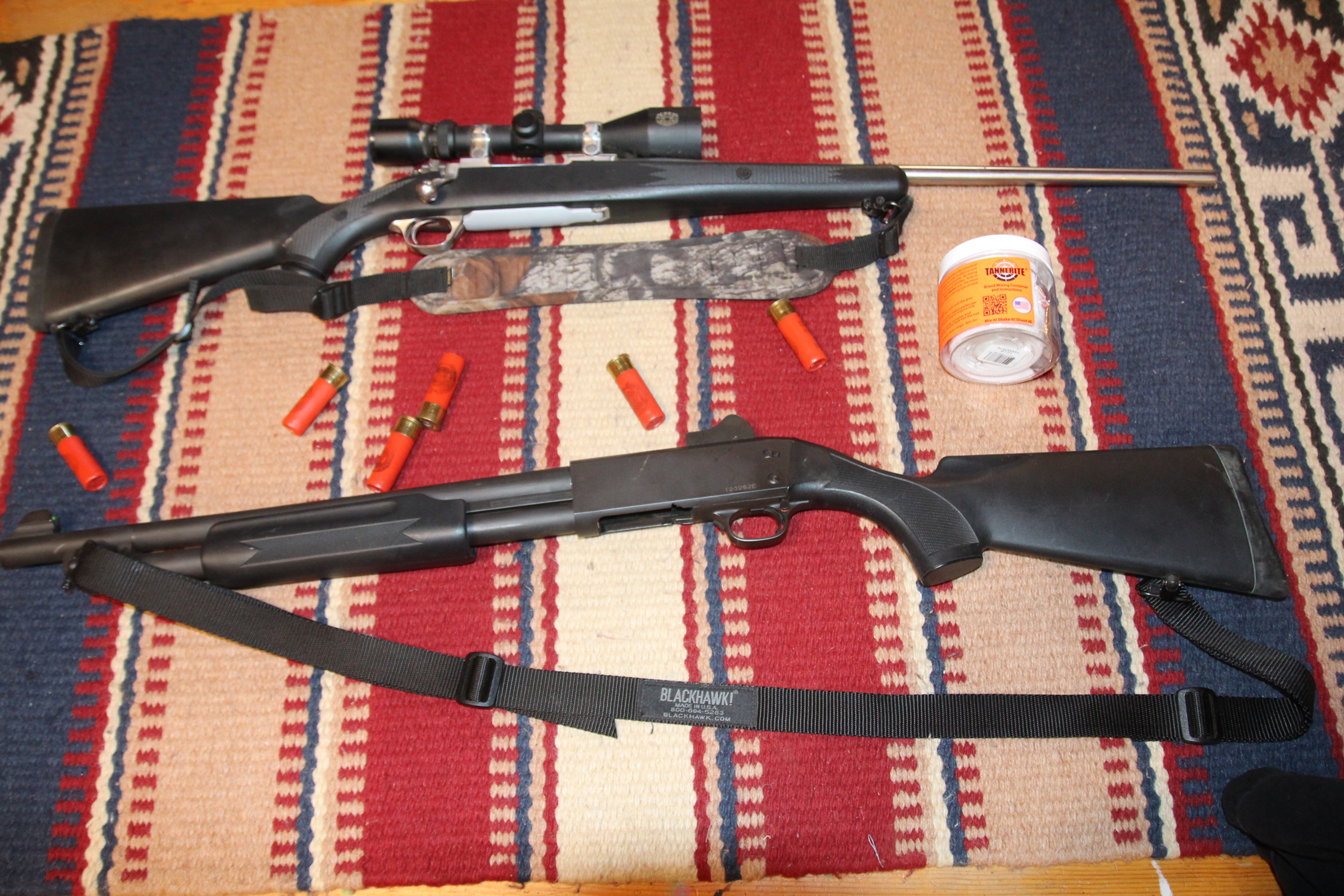 Shotgun and Tannerite Bonus package