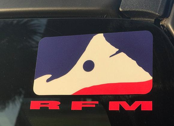 RFM Decal