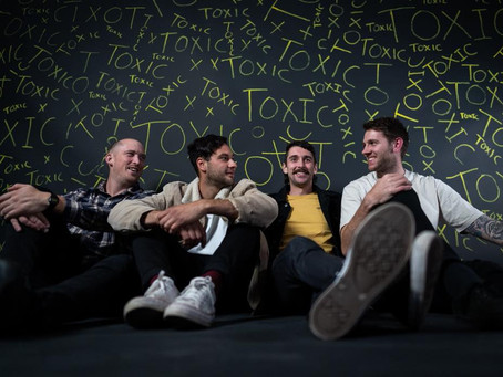 """GLASS TIDES RELEASE NEW SINGLE & VIDEO - """"TOXIC"""""""
