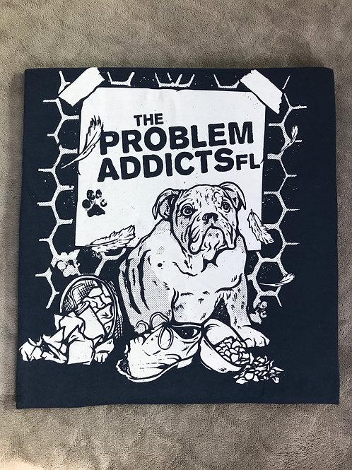 The ProblemAddictsFL - Bulldog T-Shirt