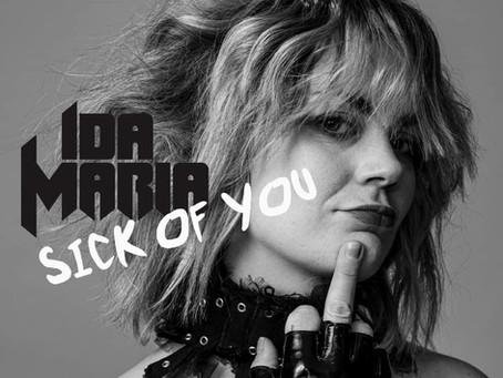 "VIDEO FEATURE: IDA MARIA - ""SICK OF YOU"""
