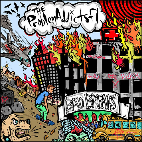 The ProblemAddictsFL - Bad Breaks CD