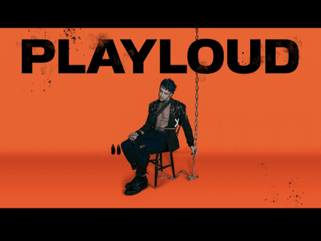 """MONCRIEFF RELEASES NEW SINGLE """"PLAYLOUD"""""""