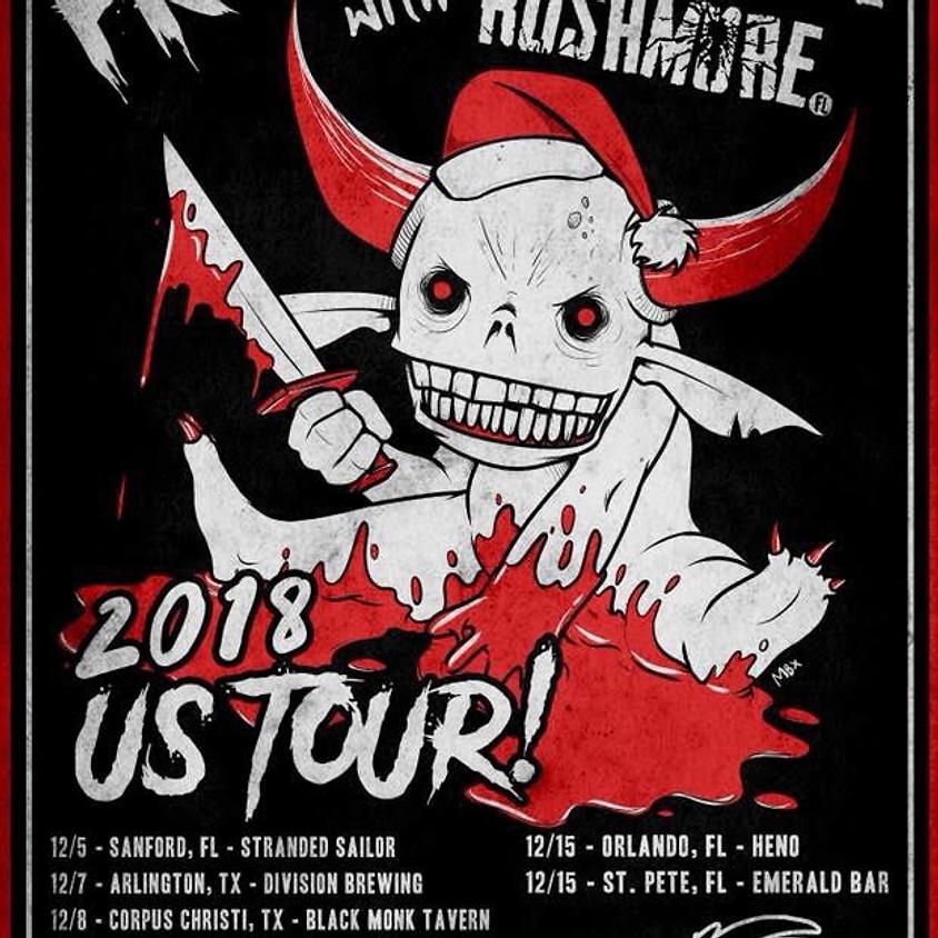 The ProblemAddictsfl and Rushmorefl Tour Kick Off