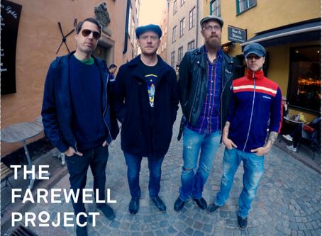"""THE FAREWELL PROJECT RELEASES NEW EP """"STATIC"""""""
