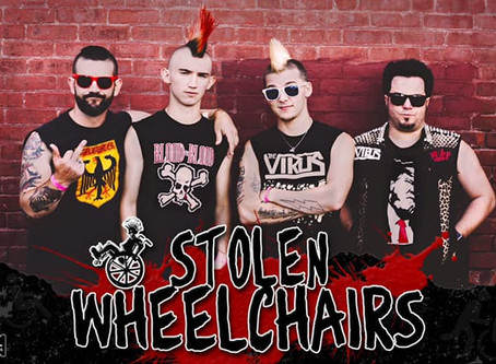 "STOLEN WHEELCHAIRS RELEASE NEW SINGLE ""ON MY OWN"""