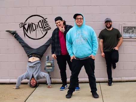 "THE MIDDLE ROOM RELEASES NEW ALBUM ""NEVER SATISFIED"""