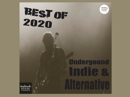 TOP 50 TRACKS OF 2020 - INDIE & ALTERNATIVE