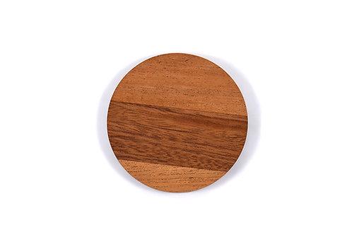 4pk - Round Wood Coasters