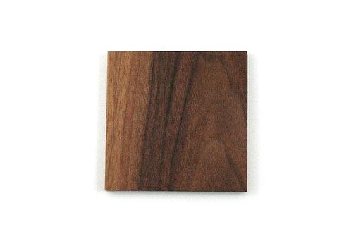 4pk - Square Wood Coasters