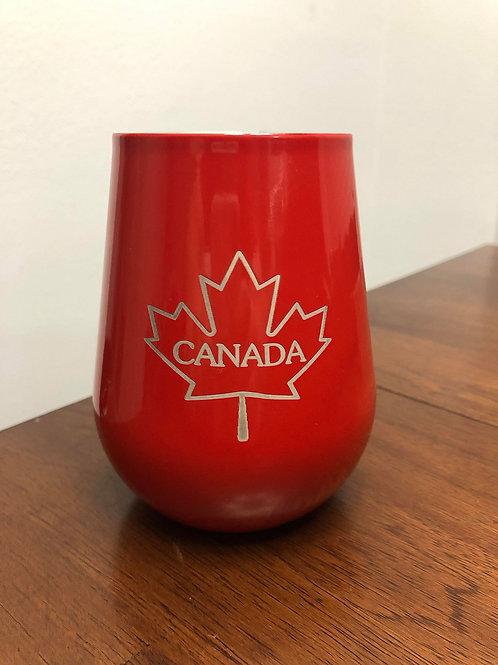 "14oz ""Canada"" Wine Tumbler"