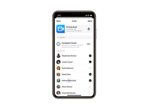 Facebook frappe fort pour concurrencer Zoom et Google Hangouts