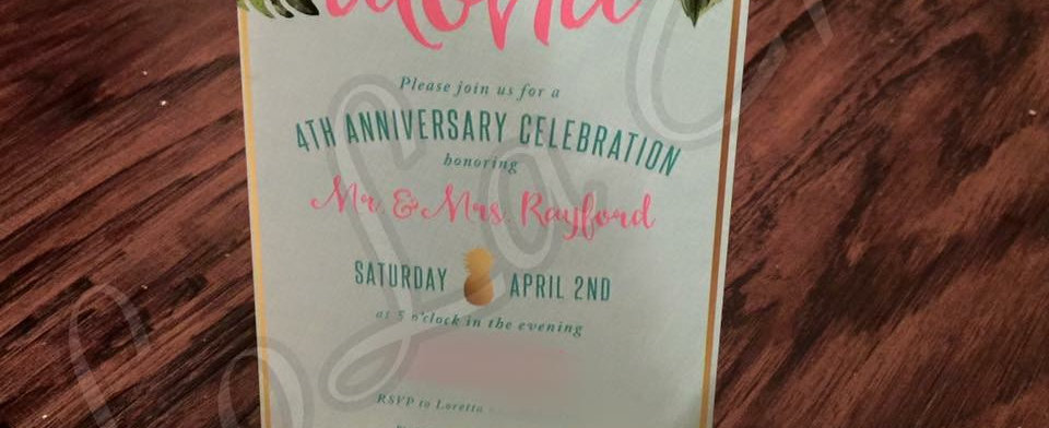 $1 Invitations