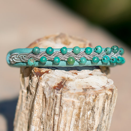 Teal & Turquoise & Silver
