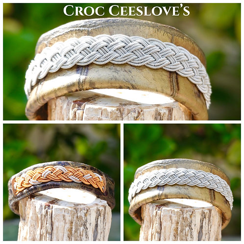 Croc & Silver Collection (3)