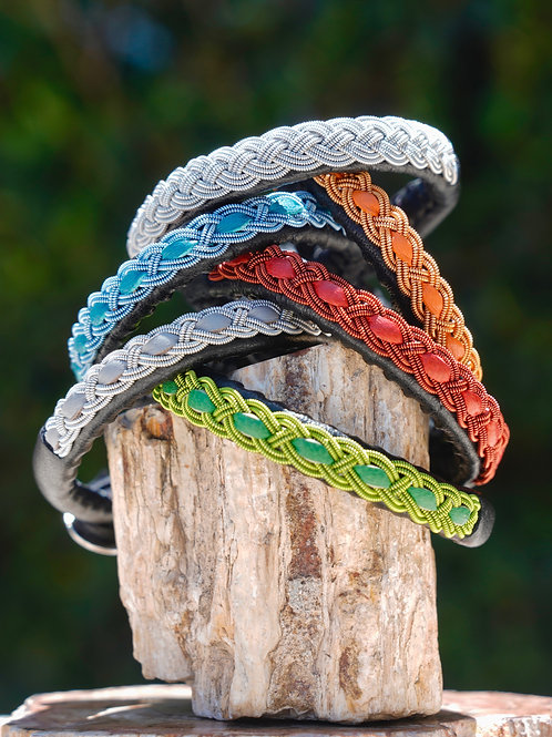 Ceeslove Colors & Italian Leather Bracelets