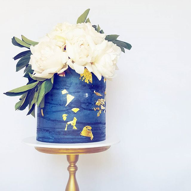 Dramatic Floral Buttercream Cake