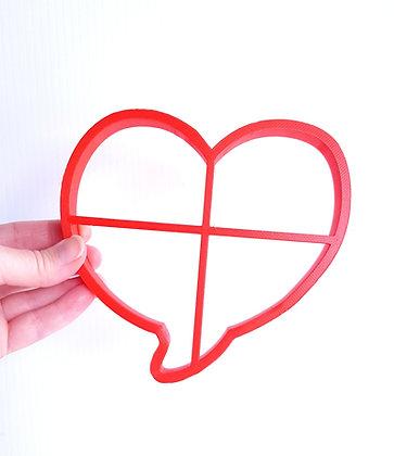 Oversized Heart Speech Bubble Cookie Cutter