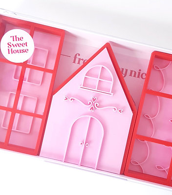 THE SWEET HOUSE - 3D COOKIE HOUSE