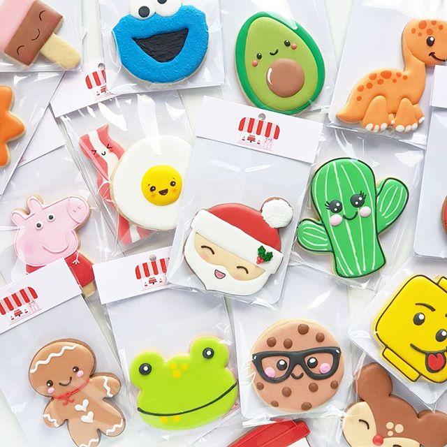 Cookie Character Cuties