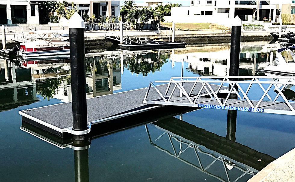 Floating Pile Pontoon Gold Coast