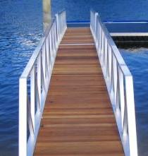 Timber Deck Gangway