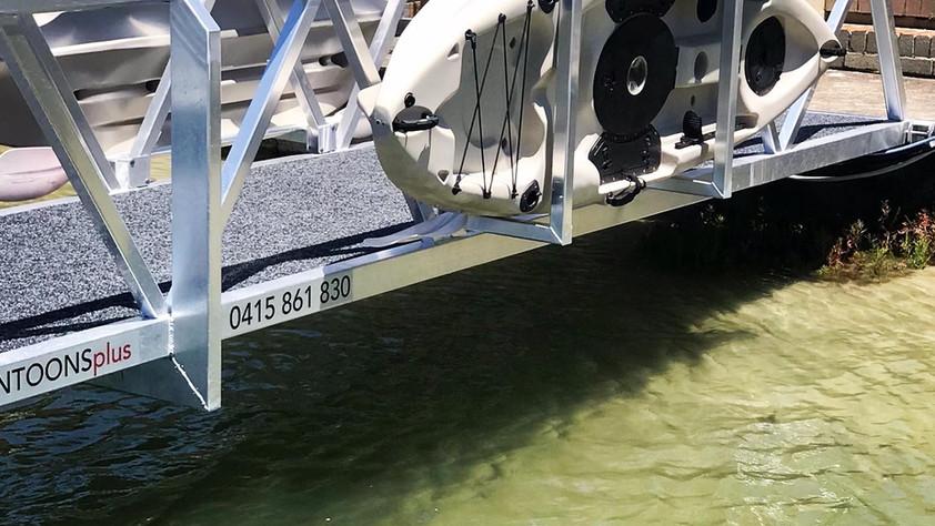 Gangway w/ Kayak/SUP Storage