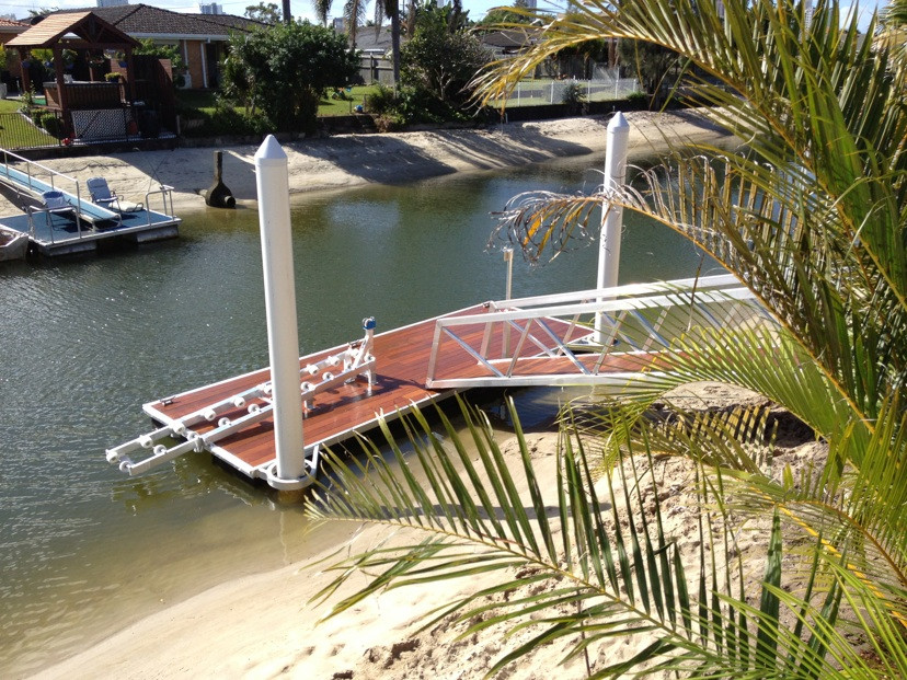 Timber Deck Pontoon
