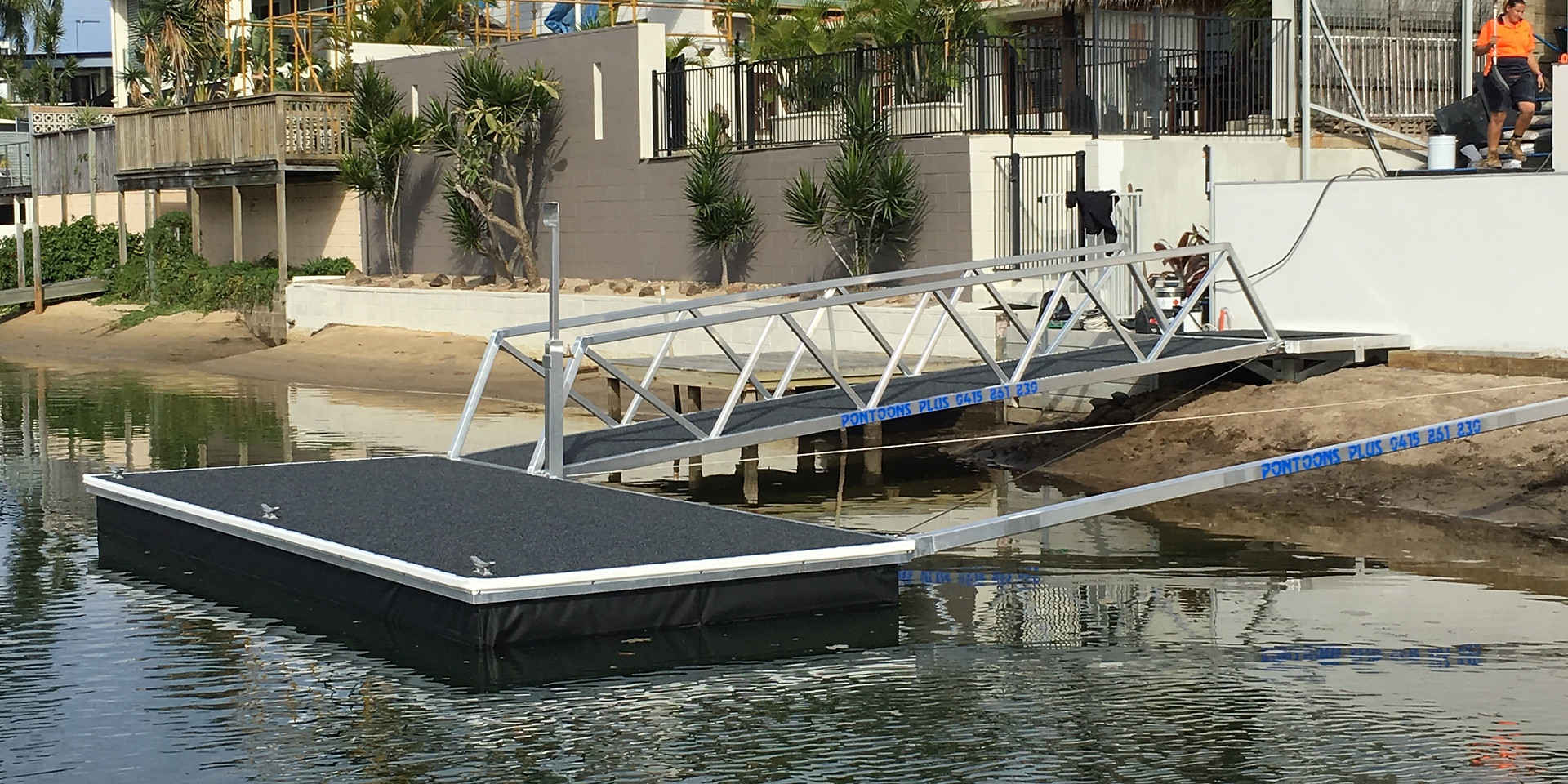 Strut Pontoon