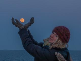 Cradle the Moon in Your Hands