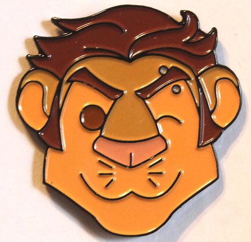 Darius Head Enamel Pin
