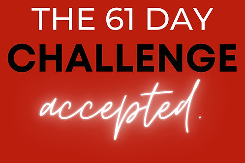 Challenge Accepted Screensaver -Red