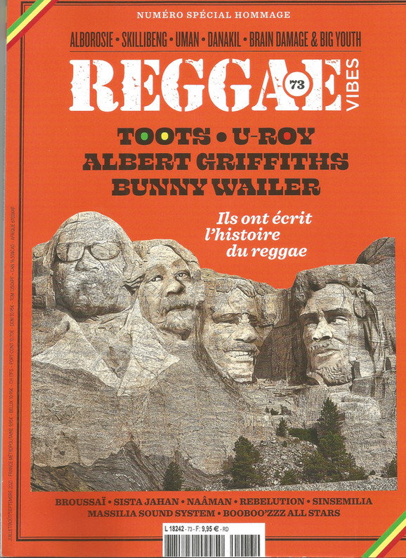 Reggae Vibes - July/August Issue