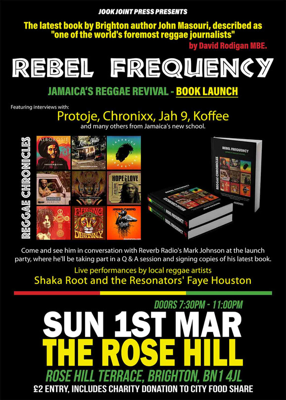Rebel Frequency Launch Party, Brighton.