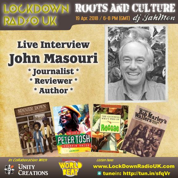 Lock Down Radio Interview with Johan Livens