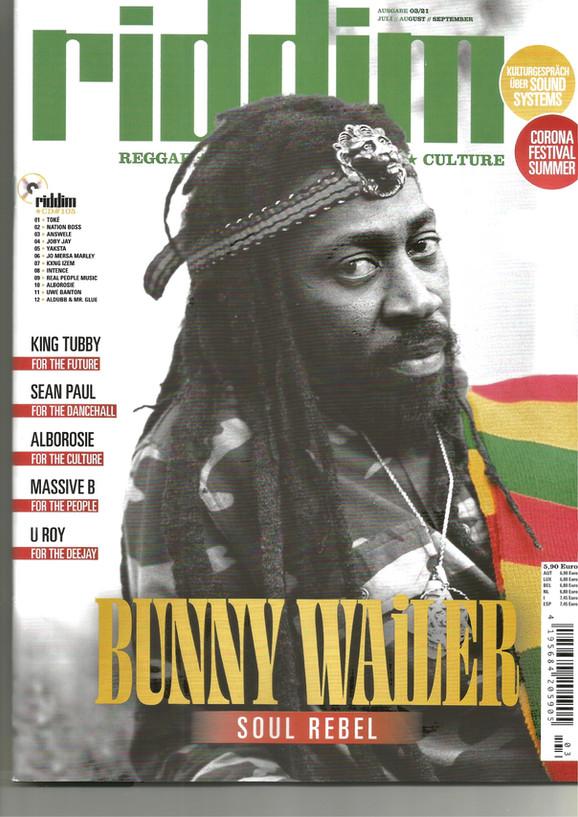 Riddim Magazine 105 - Autumn Issue