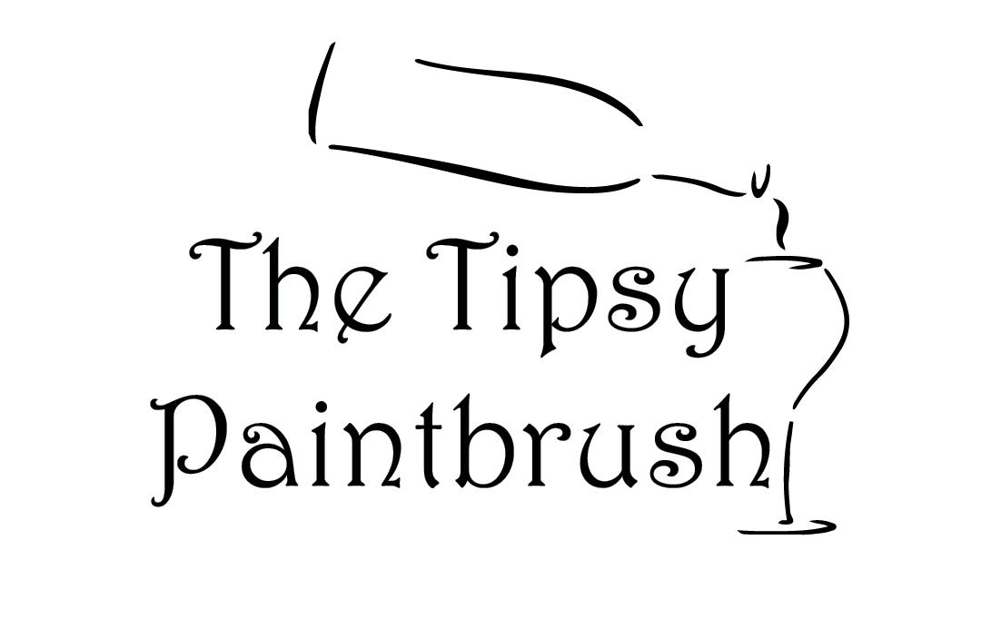 Tipsy Paintbrush Logo
