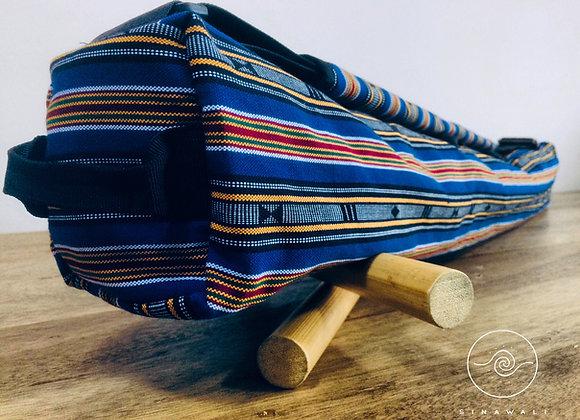 Sinawali FMA Stickbag SMALL - NAVY BLUE Sagada series