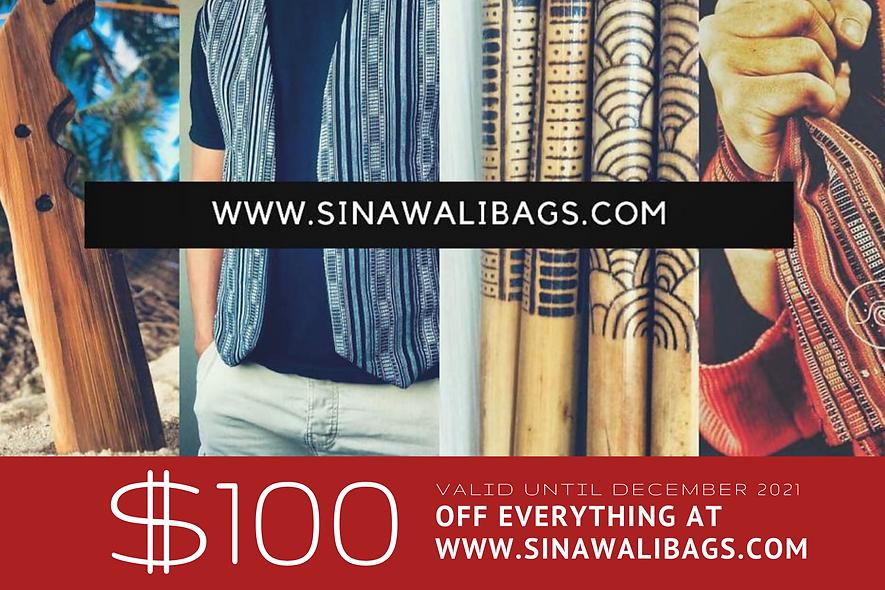 Sinawali - GIFT CARD 100$