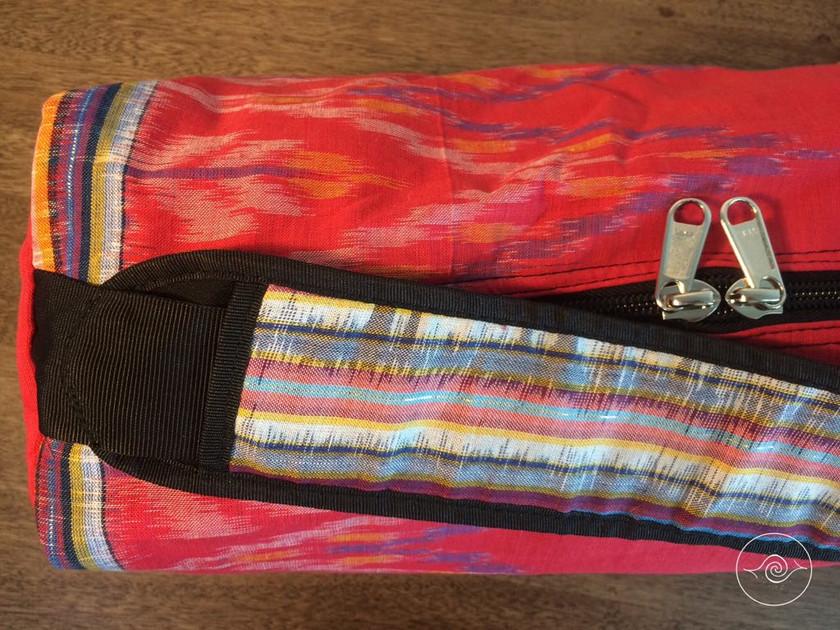 Close up of Sinawalibag - FMA Stick bag for Filipino Martial Arts gear; kali arnis escrima rattan sticks and other training equipment