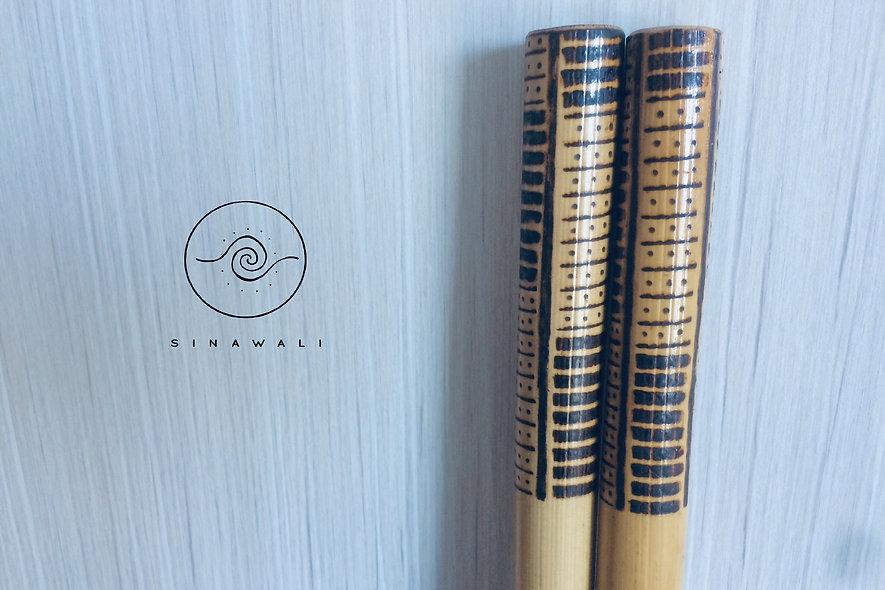 Rattan Sinawali Stick - Yakanseries (Kali Arnis Escrima)