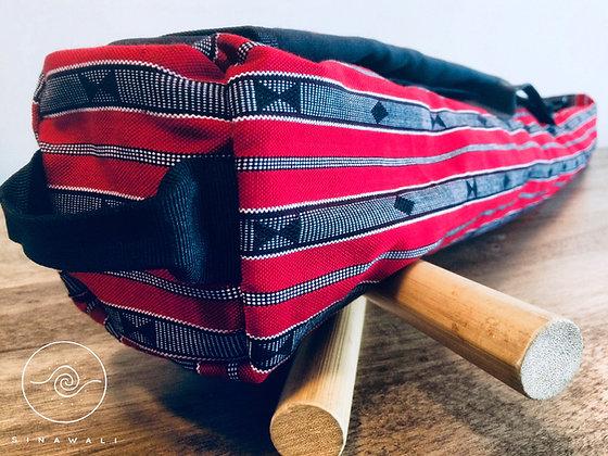Sinawali FMA Stickbag SMALL - RED Sagada series