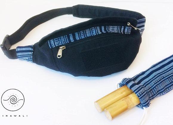Sinawali FMA Stickbag CROSSBODY - NAVY BLUE Yakanseries
