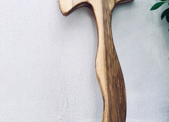 Sinawali Tomahawk / Axe :: Bamboo Training Gear