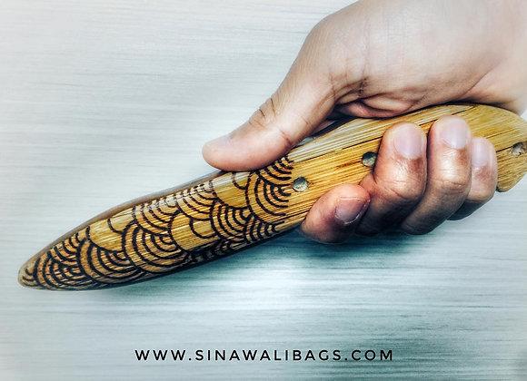 FMA Training Gear :: Sinawali Bamboo Daga [custom artwork]